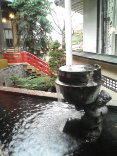温泉のクリスマス