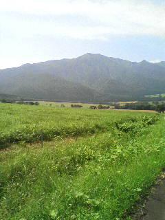 山と緑のパノラマビュー