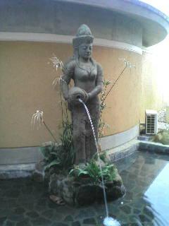 バリ島の温泉?!
