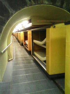 トンネルでラドン療法
