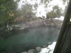 雪の大丸温泉