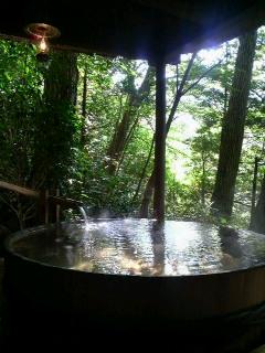 箱根でお気に入りの露天風呂