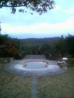 天空の温泉