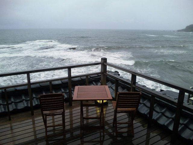 海に浮かぶ特等席