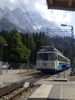 絶景とスイーツ。ドイツアルプス登山鉄子の旅。