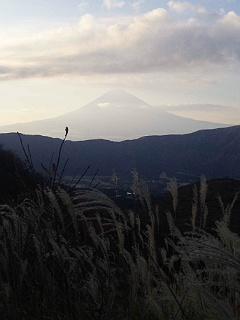 富士山に龍神さまが