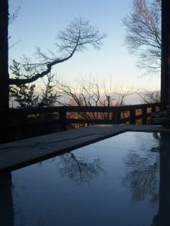 日本アルプスの絶景温泉