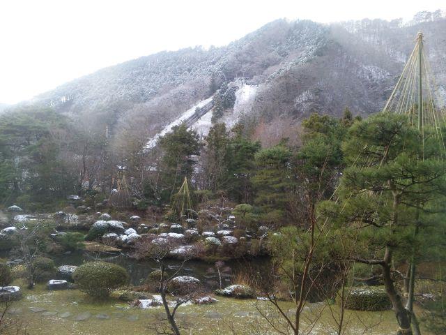 雪の磐梯熱海温泉
