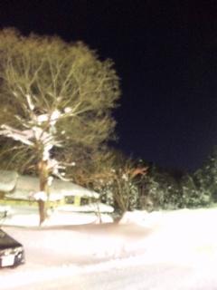 豪雪の五色沼は−7℃