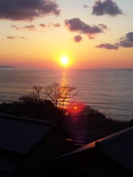 丹後半島パワースポットと絶景夕日の宿