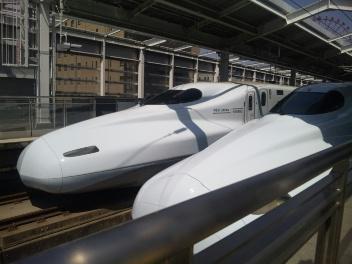 鉄子@九州新幹線