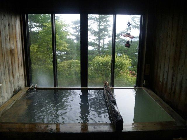 いつまでも、この優しさに包まれていたい。ぬる湯源泉風呂@高峰温泉ランプの湯