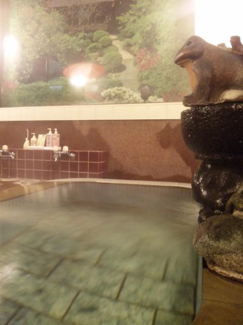 寒い夜には、こんな温泉へ。