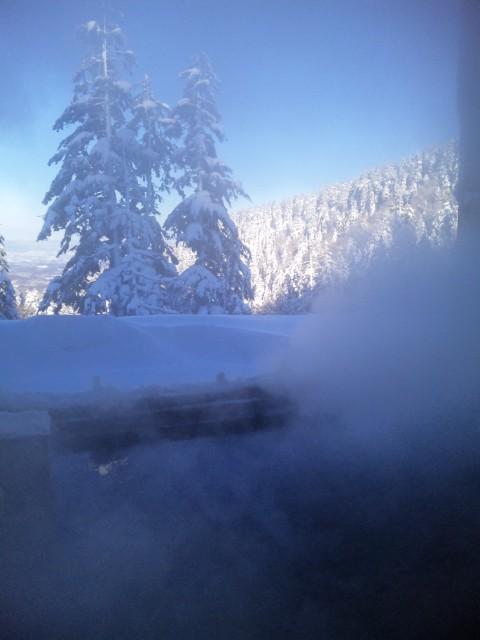 氷点下&雲上温泉@十勝岳温泉・カミホロ荘