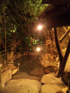今宵は天ヶ瀬温泉。