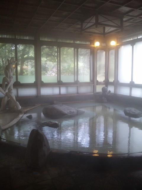 二日市温泉・大丸別荘でつるんつるんの温泉を満喫