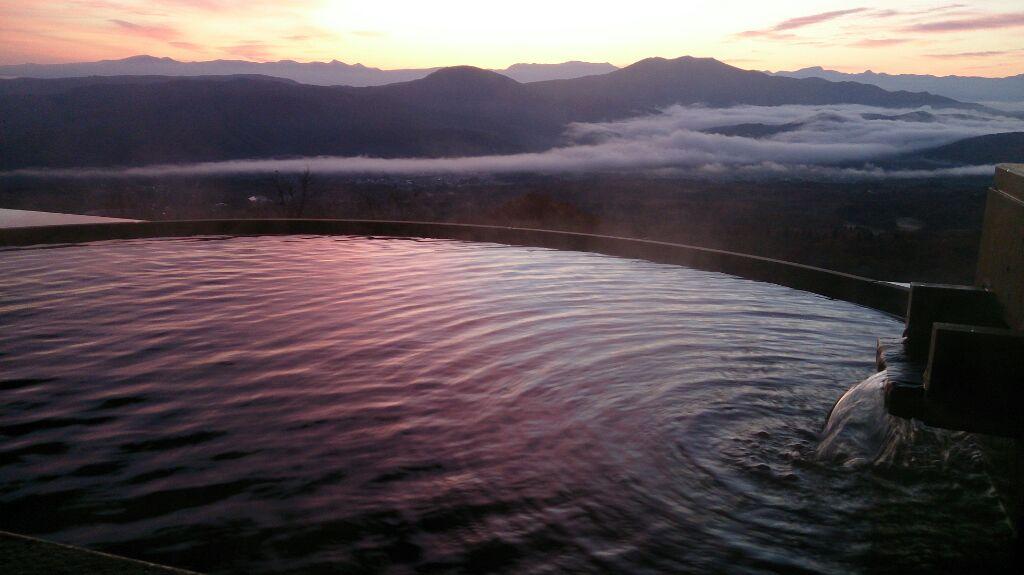 雲海温泉。ついに出逢えました!