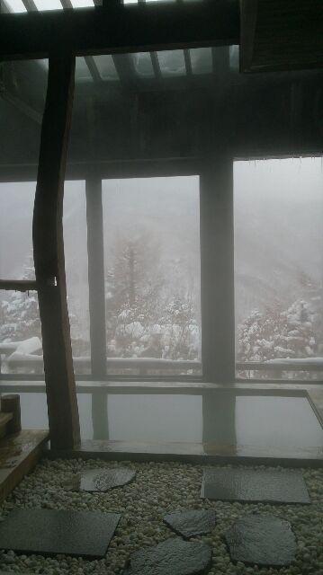 大パノラマの絶景@奥山田温泉・満山荘
