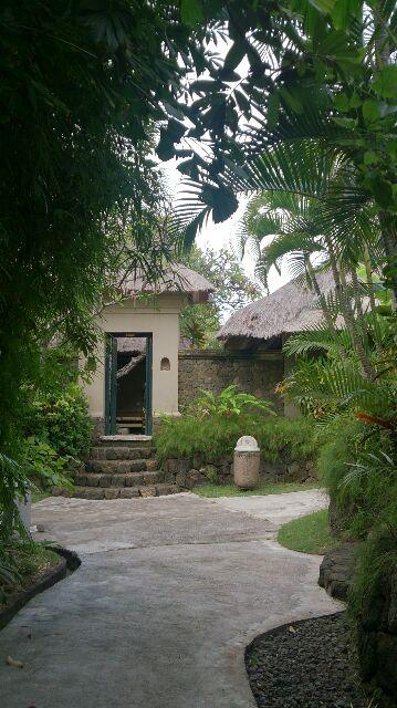 バリ島の端っこの温泉リゾートへ